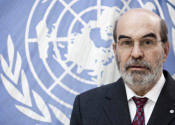 30 December 2011, Rome - FAO Director-General Jose Graziano da Silva official portrait, FAO headquarters.