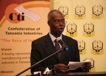 Mwenyekiti wa CTI, Dk. Samuel Nyantahe