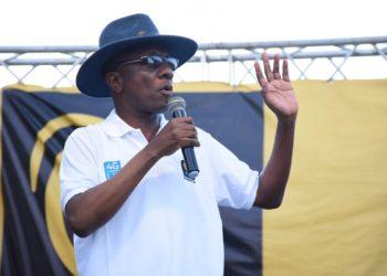 Mkuu wa mkoa wa Geita, Mhandisi Robert Gabriel.