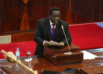 Waziri wa Viwanda, Biashara na Uwekezaji,Charles Mwijage.