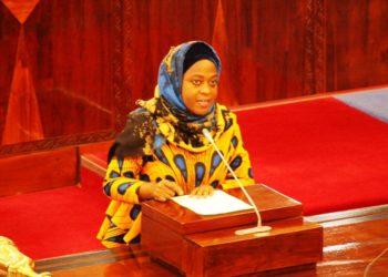 Naibu Waziri wa Nishati Subira Mgalu.