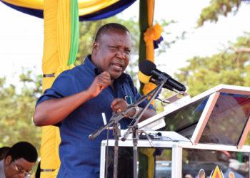 Waziri wa Kilimo Dk. Charles Tizeba.