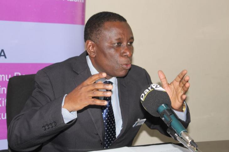 Mkurugenzi wa Sensa ya Watu na Takwimu za Jamii kutoka Ofisi ya Taifa ya Takwimu (NBS) Ephraim Kwesigabo.