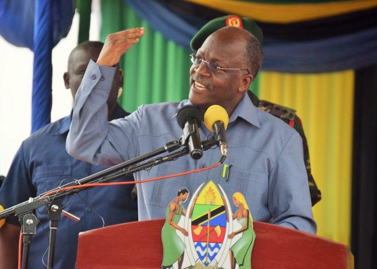 Rais wa Tanzania Dk. John Pombe Magufuli.