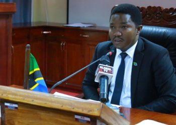 Waziri wa Nchi, Ofisi ya Rais Tawala za mikoa na Serikali za mitaa, Selemani Jafo.