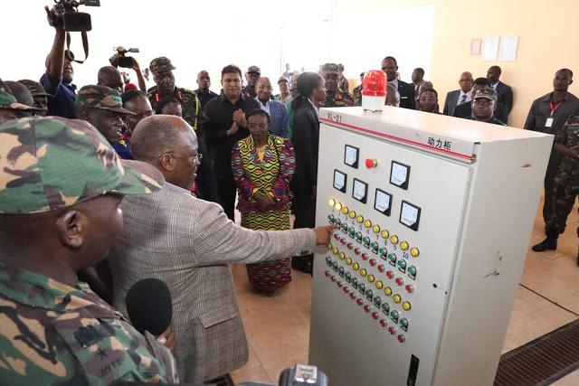 JPM azindua kiwanda cha mahindi Ruvuma