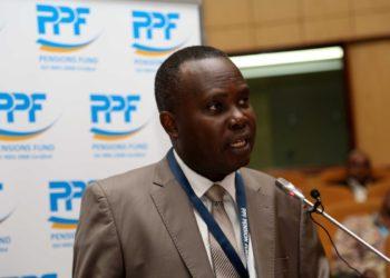 Mkurugenzi Mkuu wa Shirika la Taifa la Hifadhi ya Jamii (NSSF) William Erio.